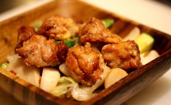 神田65料理「リードヴォーと温野菜」