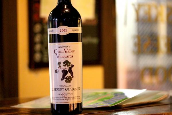 神田65ワイン「Anderson's Conn Valley Vineyards Reserve 2001:アンダーソンズ・コン・ヴァレー」