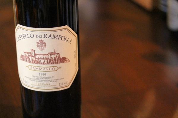 神田65ワイン「CASTELLO DEI RAMPOLLA SAMMARCO 1999」